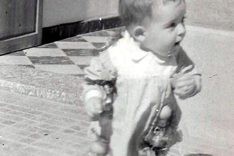 Antoni Ballester de bebé